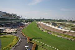 Singapore racerbana Arkivfoto