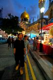 Singapore : Ramada bazar Royalty Free Stock Image