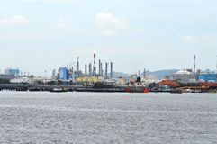 Singapore Refinery Stock Images