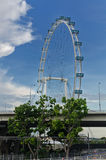 Singapore reklamblad Arkivfoto