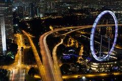 Singapore reklamblad Royaltyfri Foto