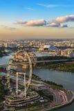 Singapore reklamblad Royaltyfri Bild
