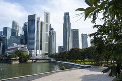 Singapore. The Republic of , and often referred to as the Lion City, the Garden City, and the Red Dot, is a global city in Southeast Asia and the world's only Royalty Free Stock Image