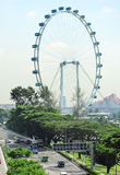 Singapore Rerries Wheel Stock Images