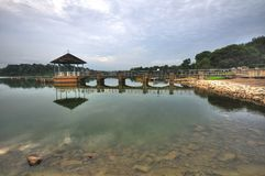 Singapore Reservoir Royalty Free Stock Image