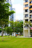Singapore residential buildings Stock Image