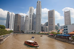 Singapore river Stock Photo