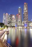 Singapore river cityscape Royalty Free Stock Photography