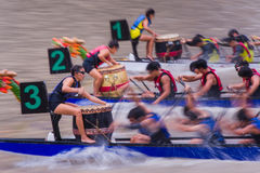 Singapore River Regatta 2014 Stock Photography