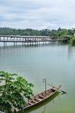 Singapore River Safari Bridge Stock Photo