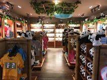 Singapore River Safari Panda Souvenir Shop Stock Images