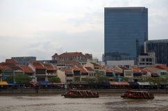 Singapore River, Singapore Stock Photography