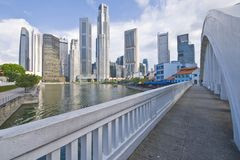Singapore River View Royalty Free Stock Photography