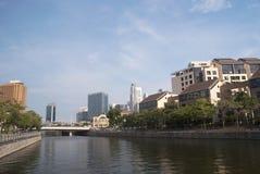 Singapore Robertson Quay Immagine Stock Libera da Diritti
