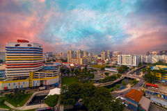 Singapore Rochor Commercial and Residential Mixed Area Stock Images