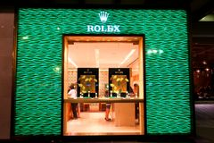 Singapore : Rolex Stock Photos