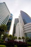 Singapore's Central Business District Royalty Free Stock Image