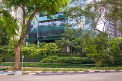 Singapore& x27; s-Grün-Architektur lizenzfreie stockfotografie