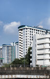 Singapore's HDB flats. The Housing & Development Board (HDB) is Singapore's public housing authority Royalty Free Stock Images