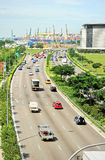 Singapore's highway Royalty Free Stock Photos