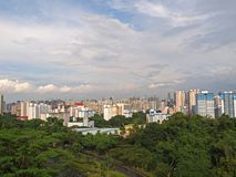 Singapore's Housing Estate Stock Images
