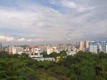Singapore's Housing Estate. Telok Blangah Hill overlooking blocks of HDB flats Stock Images