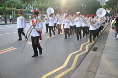 Singapore S Presidential Changing Of Guards Stock Photo