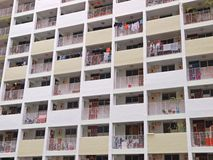 Singapore's Public Housing. A slab block built by Housing & Development Board (HDB) in Toa Payoh, one of the first few estates in Singapore that Stock Image