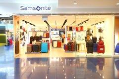 Singapore: Samsonite retail store Royalty Free Stock Image