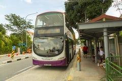 Singapore SBS public bus Royalty Free Stock Photos
