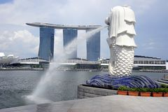 Singapore scenery Royalty Free Stock Photography