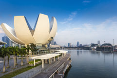 Singapore Science Museum viewpoint royalty free stock image