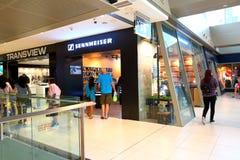 Singapore Sennheiser retail store. Sennheiser retail store at Marina Square shopping mall Royalty Free Stock Photography