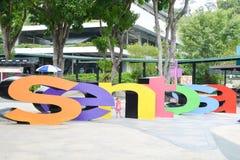 Singapore Sentosa Royalty Free Stock Photo