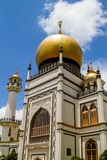 Historic Masjid Sultan Mosque in Singapore Royalty Free Stock Photos