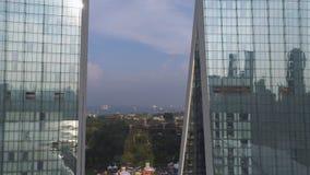 Singapore - 25 September 2018: Sluit omhoog voor Marina Bay Sands, Singapore en prachtige cityscape in zonnige dag schot royalty-vrije stock foto