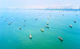 Singapore shipping Stock Photos