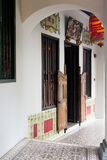 Singapore Shophouse Walkway Stock Images