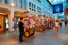 Singapore: Shopping mall Stock Photo