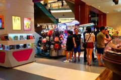 Singapore: Shopping mall Royalty Free Stock Photography