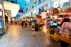 Singapore: Shopping mall Stock Photos
