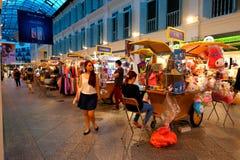 Singapore: Shopping mall Stock Image