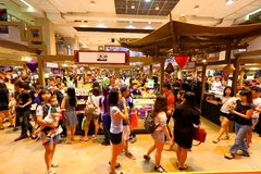 Singapore: Shopping Royalty Free Stock Photo