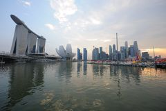 Singapore, SINGAPORE - 11 febbraio: Fiume Hongbao 2011 Immagine Stock Libera da Diritti