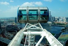 Singapore: Singapore Flyer Gondola Royalty Free Stock Image