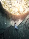 Fort canning famous place in Singapore. royalty free stock photo