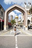Sultan Mosque in Arab Street. stock photography