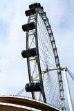 Singapore sky flyer. Singapore Flyer - the Largest Ferris Wheel in the World Stock Photo