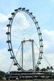 Singapore sky flyer. Singapore Flyer - the Largest Ferris Wheel in the World Royalty Free Stock Photography