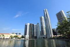 Singapore skyline. Singapore City  Skyline of Business District Stock Photography